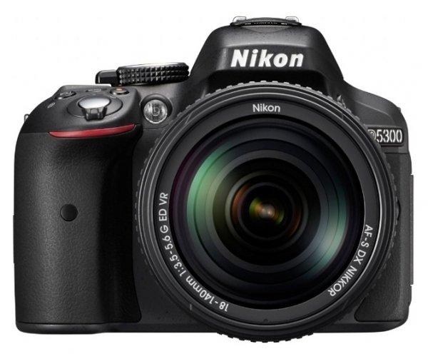 Зеркальный фотоаппарат NIKON D5300 Kit 18-140mm black