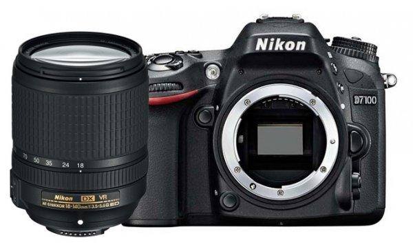 Фотоаппарат NIKON D7100 Kit 18-140VR (VBA360KV02)