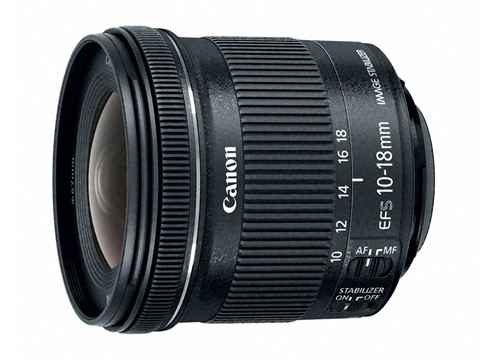 Объектив CANON EF-S 10-18mm f/4.5-5.6 IS STM 2018