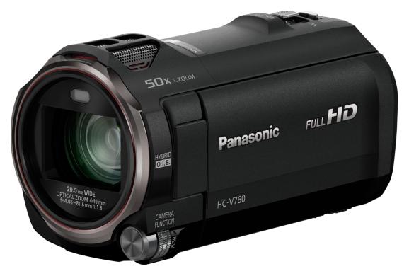 Цифровая видеокамера PANASONIC HC-V760EE-K 2018