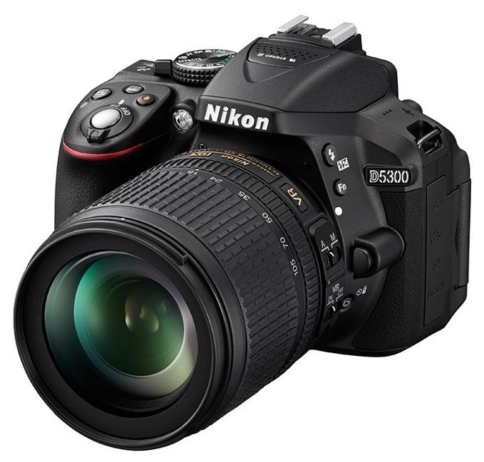 Фотоаппарат NIKON D5300 Kit 18-105 VR 2018