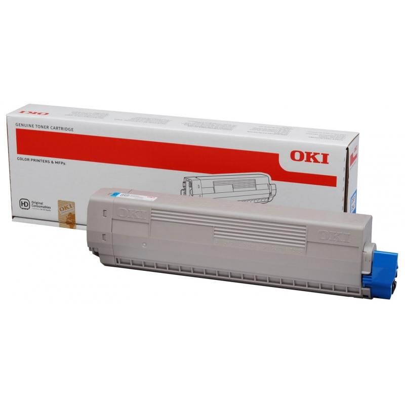 Тонер-картридж OKI C831/C841 (44844507) Cyan