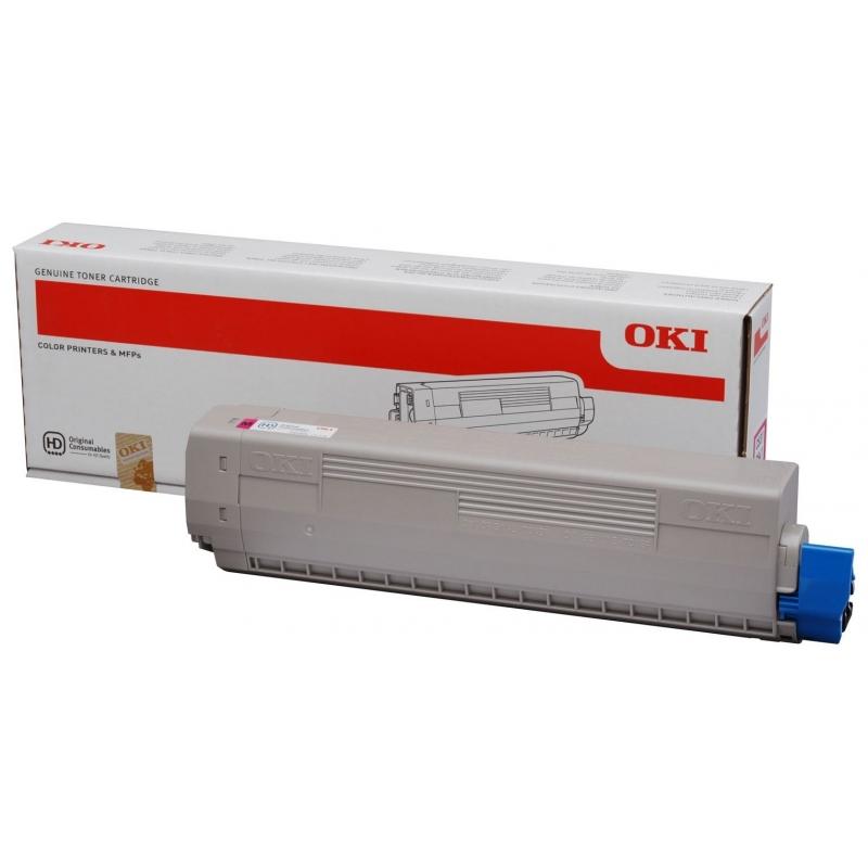 Тонер-картридж OKI C831/C841 (44844506) Magenta