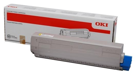 Тонер-картридж OKI C831/C841 (44844505) Yellow