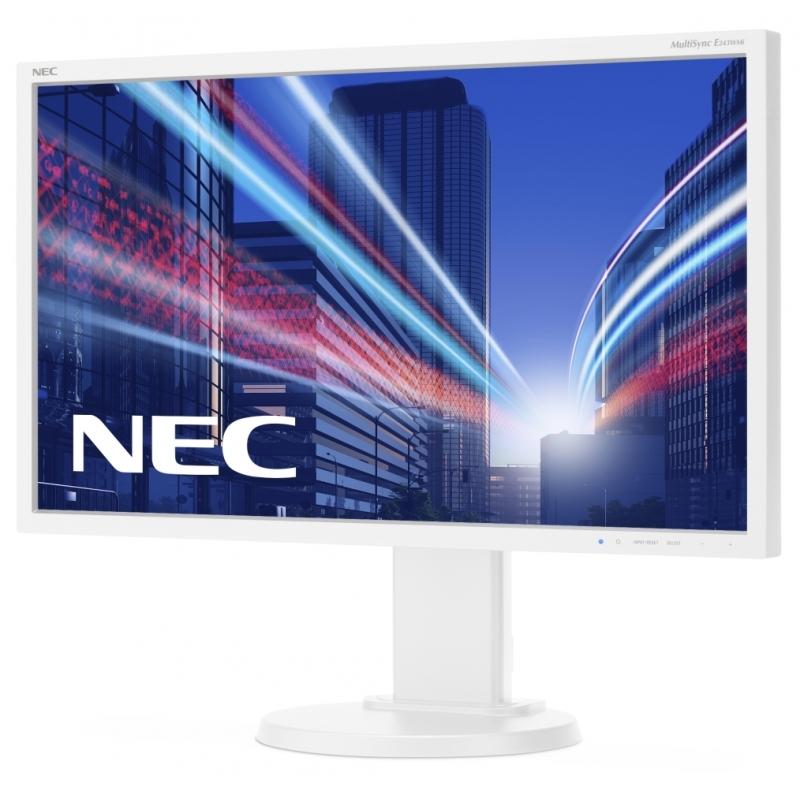 Монитор 24 NEC MultiSync E243WMi White