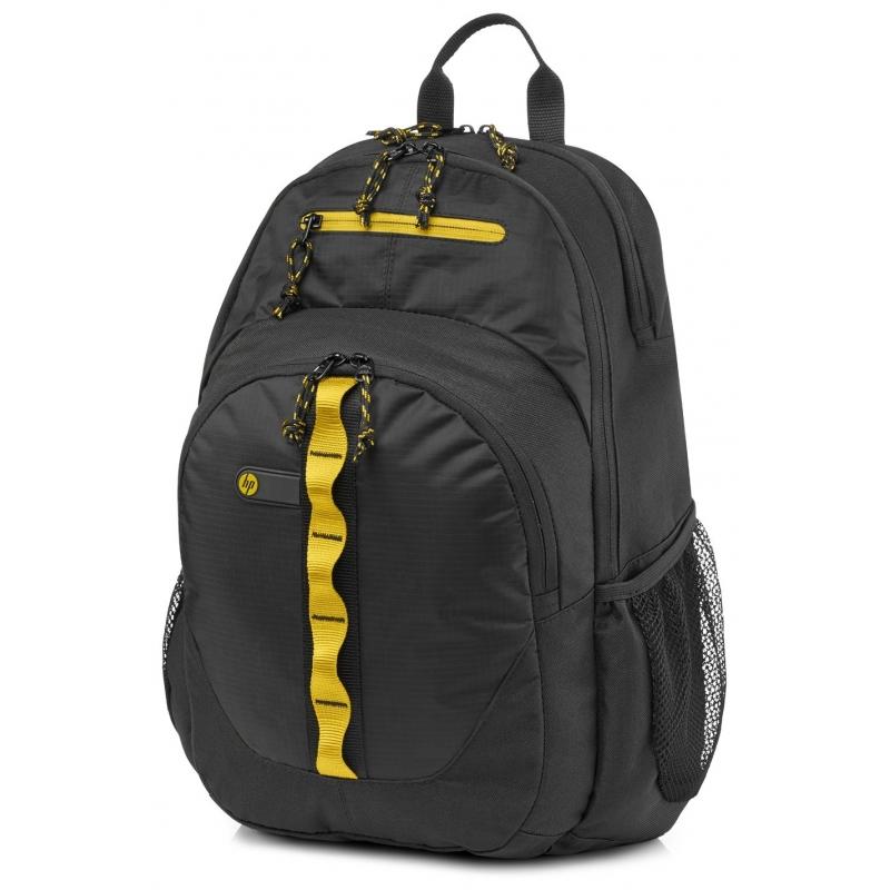 Рюкзак для ноутбука 15.6 HP Sport b/y Backpack Black (F3W17AA)