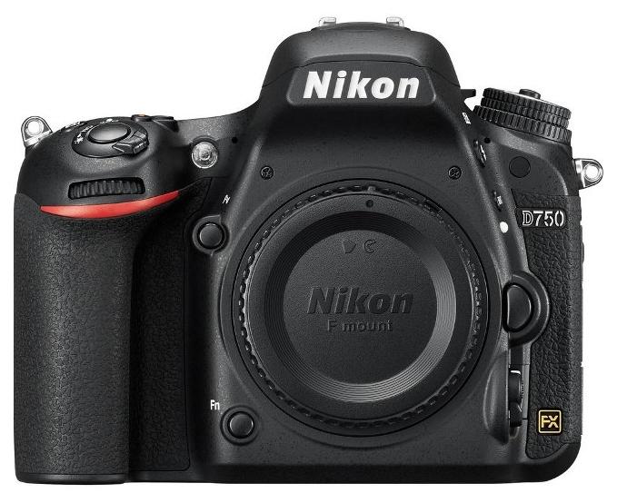 Фотокамера NIKON D750 body + сумка карта SD 64GB
