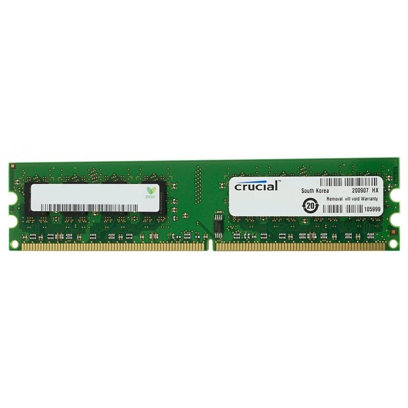 Память Micron Crucial 1x4Gb DDR3L 1866 MHz (CT51264BD186DJ)