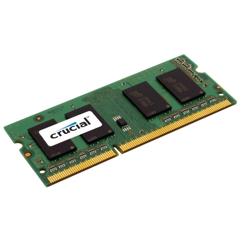 Память So-Dimm Micron Crucial 1x2Gb DDR3 1600 MHz (CT25664BF160BJ)