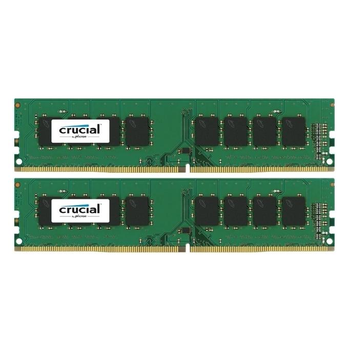 Память Micron Crucial 2x4Gb DDR4 2133 MHz (CT2K4G4DFS8213)