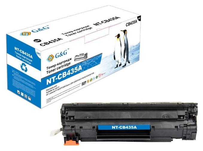 Картридж G&G для Canon LBP-3010/3020 Black (G&G-712)