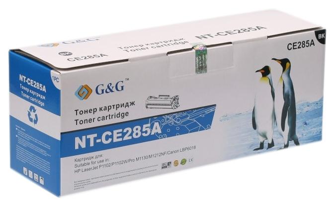 Картридж G&G для Canon LBP-6000/6020/MF3010 Black (G&G-725)