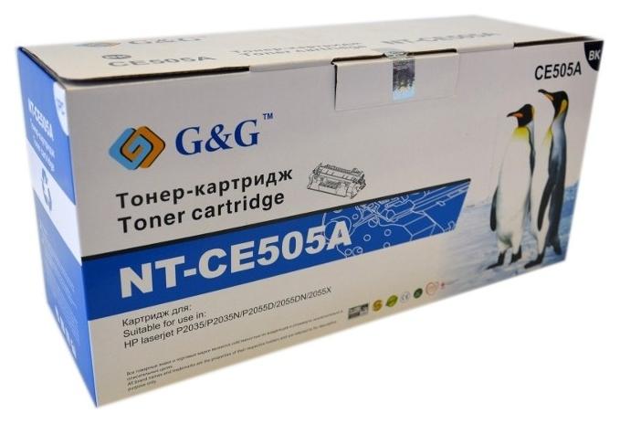 Картридж G&G для Canon LBP-6300dn/6650dn, MF5580n Black (G&G-719)
