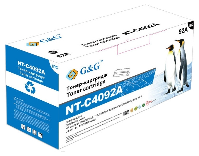 Картридж G&G для Canon LBP-800/810, НР LJ 1100 Black (G&G-EP-22)