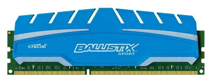 Память Micron Ballistix Sport XT 1x8Gb DDR3 1866Mhz (BLS8G3D18ADS3CEU)