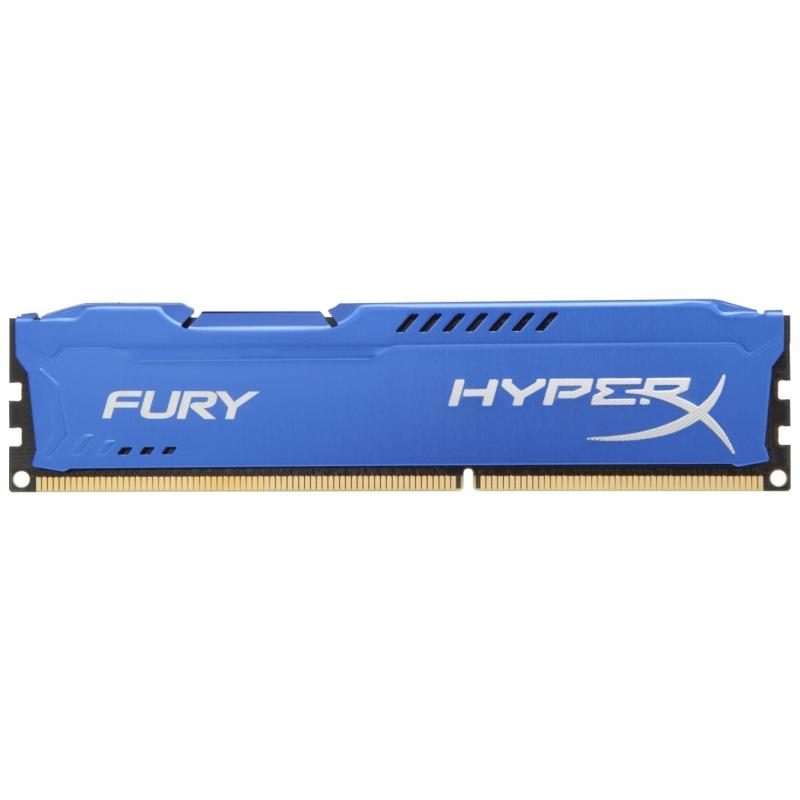 Память Kingston HyperX Fury Blue 1x8Gb DDR3 1600Mhz (HX316C10F/8)