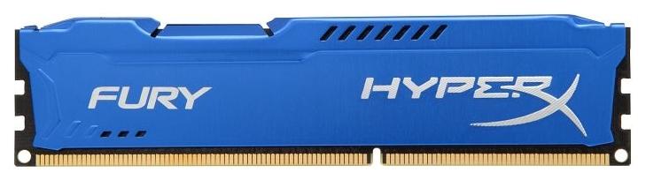 Память Kingston HyperX Fury Blue 1x8Gb DDR3 1866MHz (HX318C10F/8)