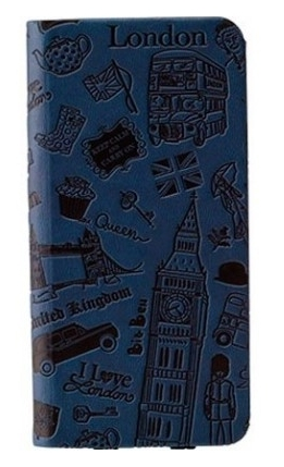 Чехол OZAKI O! Coat Travel London for iPhone 6 Dark Blue (OC569LD)