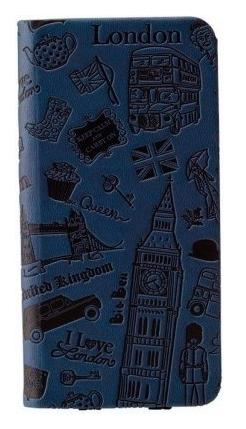 Чехол OZAKI O! Coat Travel London for iPhone 6 Plus Dark Blue (OC585LD)