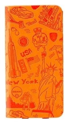 Чехол OZAKI O! Coat Travel New York for iPhone 6 Orange (OC569NY)