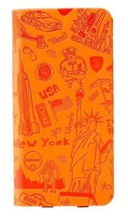 Чехол OZAKI O! Coat Travel for iPhone 6 Plus Orange (OC585NY)