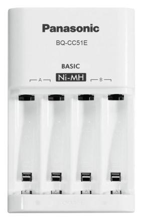 Купить Зарядные устройства, Зарядное устройство Panasonic Eneloop Basic BQ-CC51E