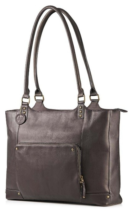 Сумка HP Ladies Brown Leather Tote (F3W12AA)