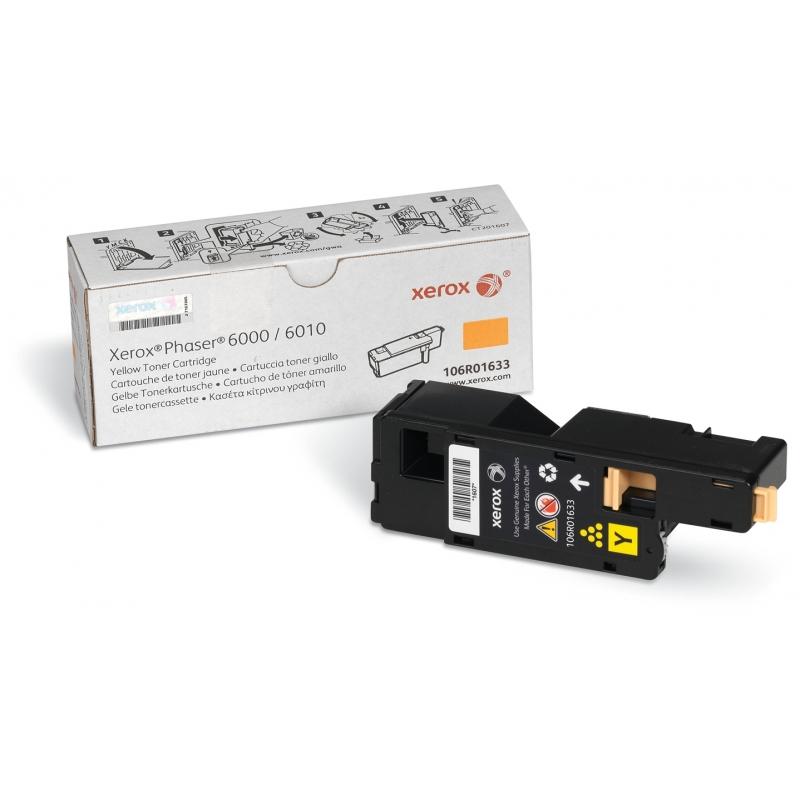 Тонер картридж Xerox PH6000/ 6010N Yellow (106R01633)