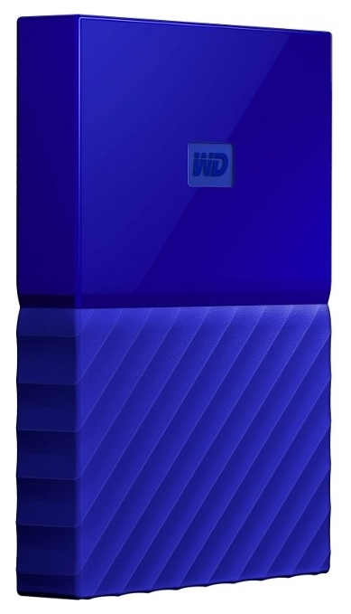 Жесткий диск WD My Passport Blue 1TB WDBYNN0010BBL