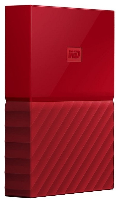 Жесткий диск 1TB WD My Passport RED WDBYNN0010BRD-WESN USB3.0