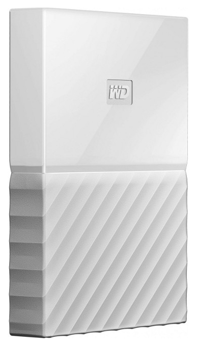 Жесткий диск 1TB WD My Passport WHITE WDBYNN0010BW