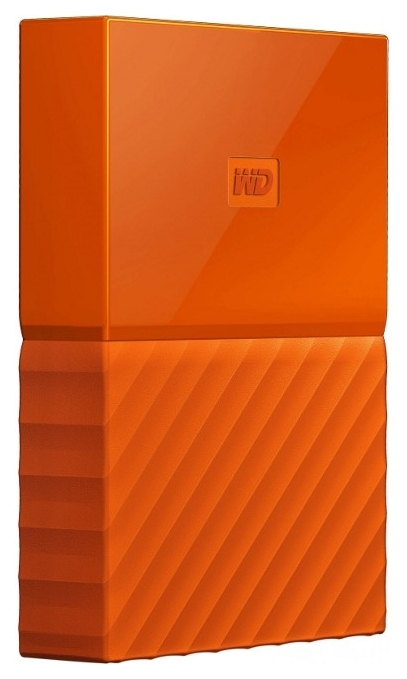 Жесткий диск WD My Passport 1TB Ultra Orange WDBYN
