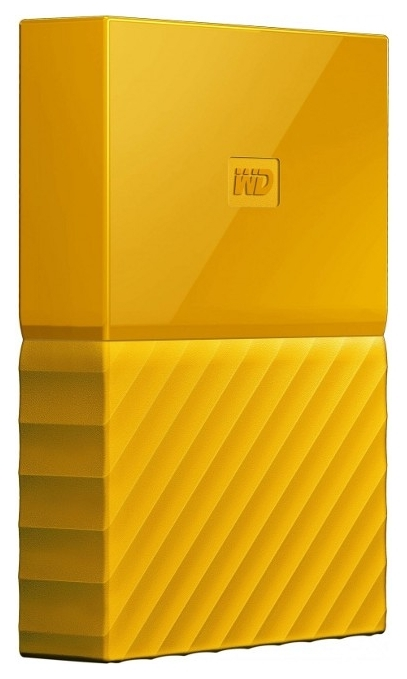 Жесткий диск 2TB WD My Passport YELLOW WDBYFT0020BYL-WESN USB3.0