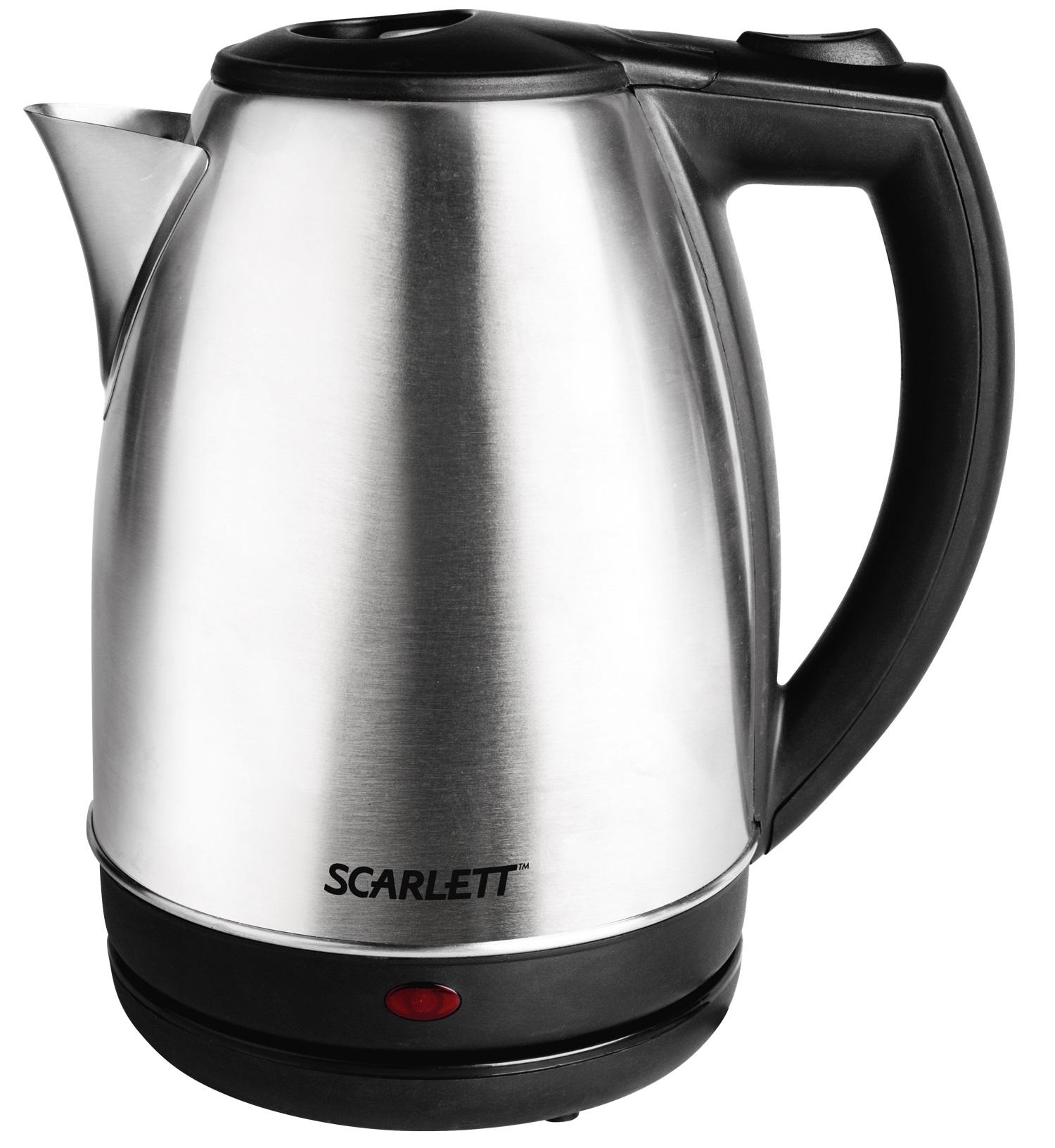 Чайник Scarlett SC EK 21S12 нерж.сталь
