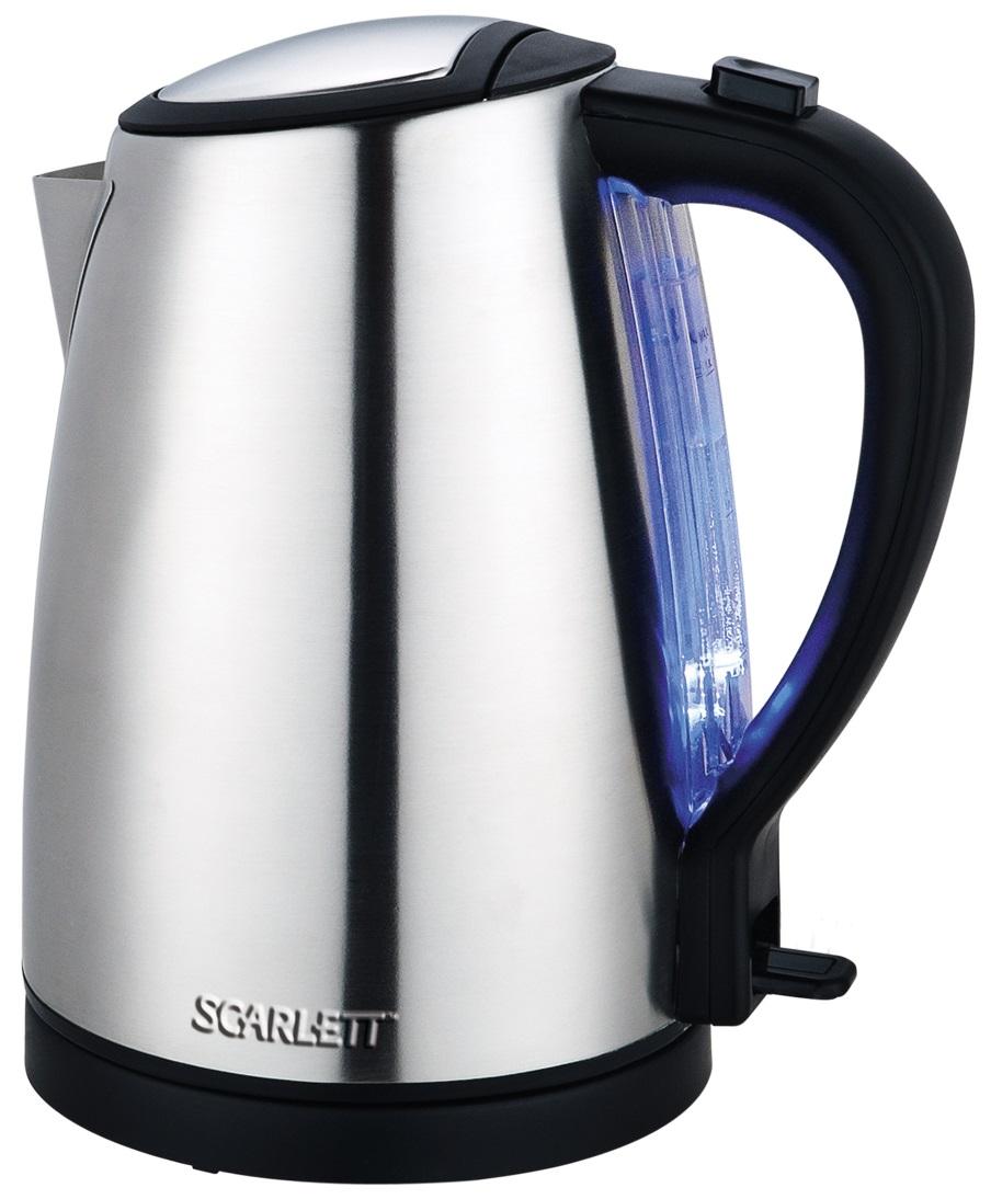 Чайник Scarlett SC EK 21S27 нерж.сталь