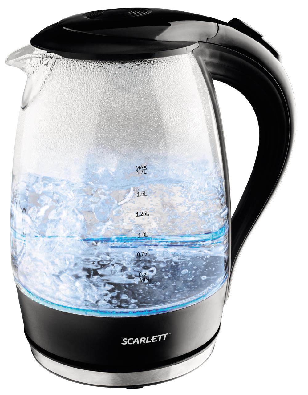 Чайник Scarlett SC EK 27G08 black