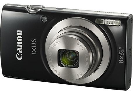 Фотоаппарат цифровой CANON IXUS 185 Black
