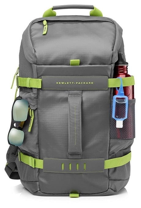 Рюкзак для ноутбука 15.6 HP Odyssey Backpack Green/Gray (L8J89AA) 2018