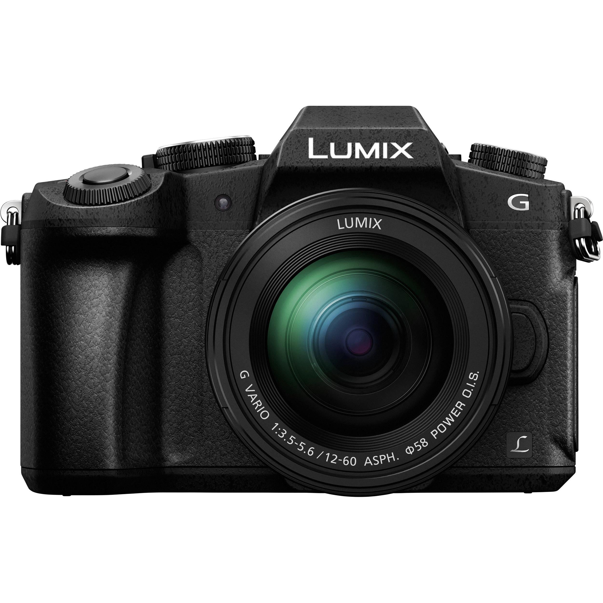 Фотоаппарат PANASONIC LUMIX DMC-G80 Kit Black (DMC-G80MEE-K)