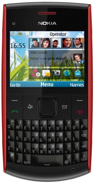 Мобильный телефон Nokia X2-01 Red