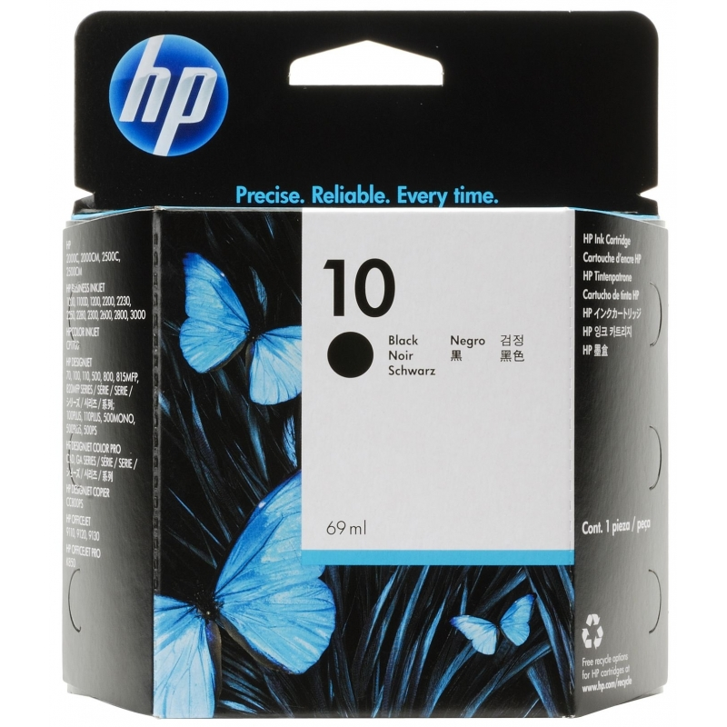 Картридж HP 10 black (C4844AE)