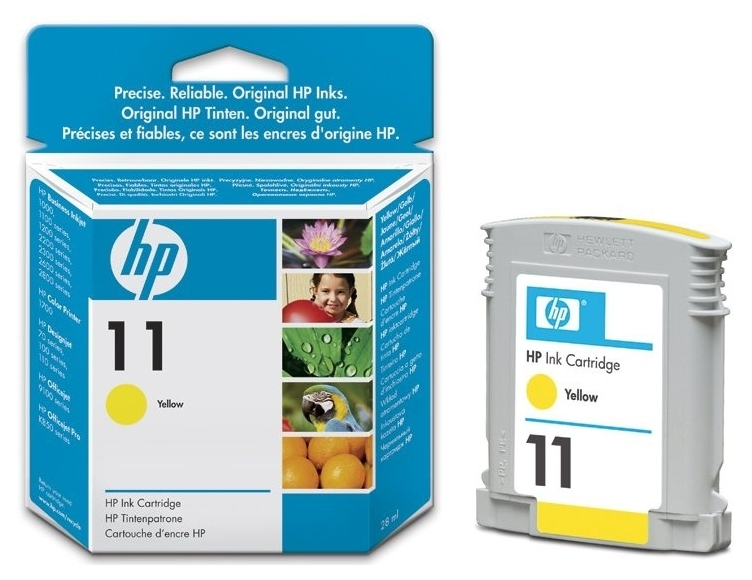 Картридж HP 11 yellow (C4838AE)