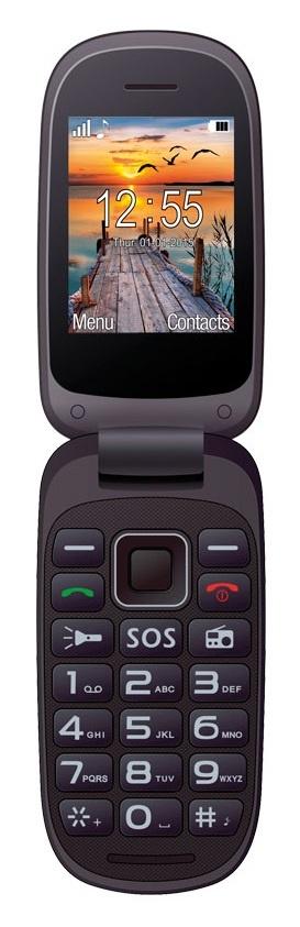 43981d8f4452b Мобильный телефон Maxcom MM818 Black купить по низкой цене в Киеве,  Харькове, Днепре, Одессе, Запорожье, Украине | Интернет-магазин Eldorado