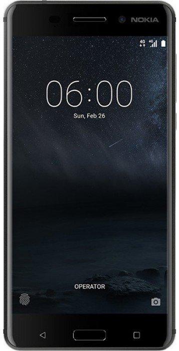d631a10742d9c Смартфон Nokia 6 32GB Black (11PLEB01A15) купить по низкой цене в Киеве,  Харькове, Днепре, Одессе, Запорожье, Украине | Интернет-магазин Eldorado