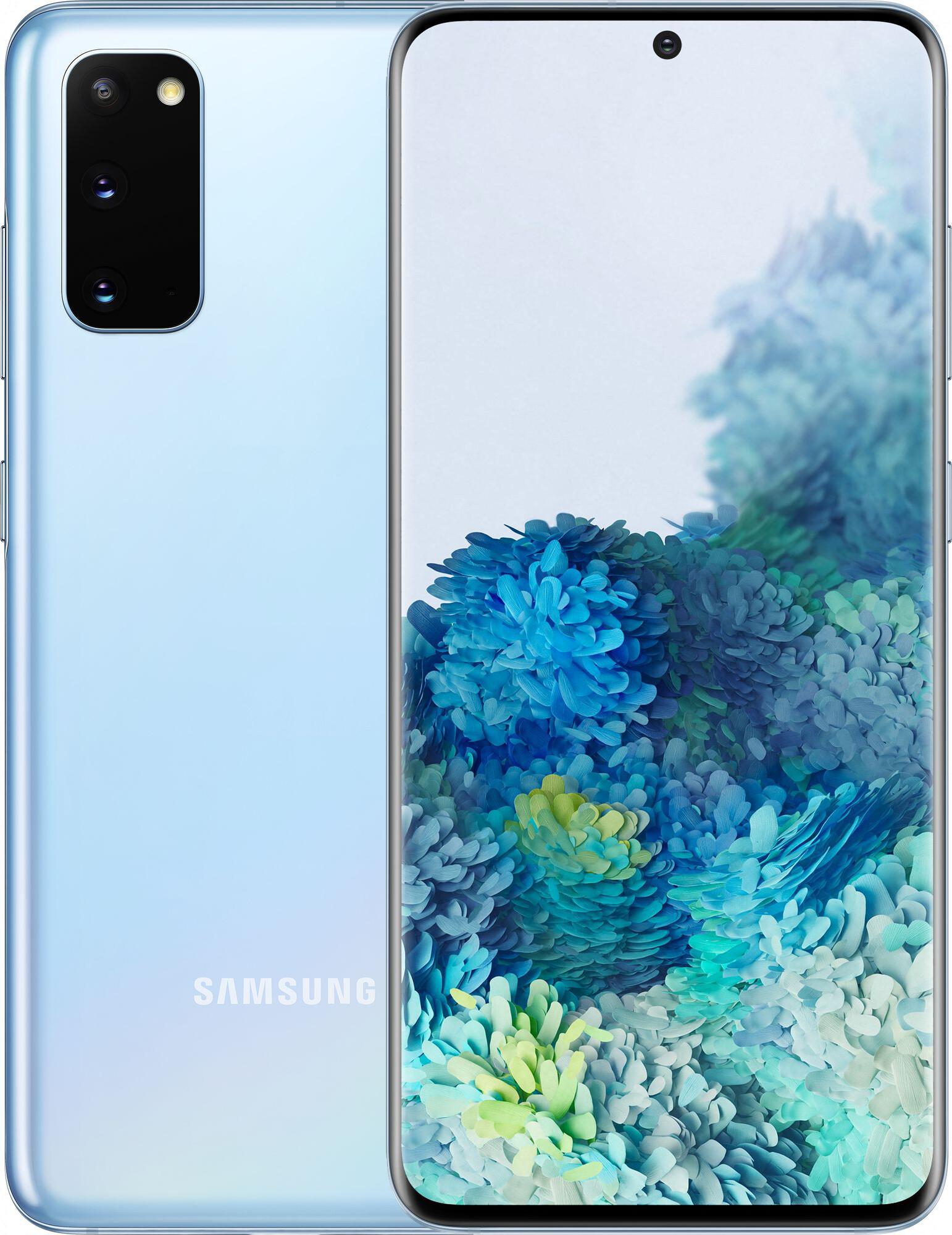 Смартфон SAMSUNG Galaxy S20 8/128Gb Blue (SM-G980FLBDSEK)