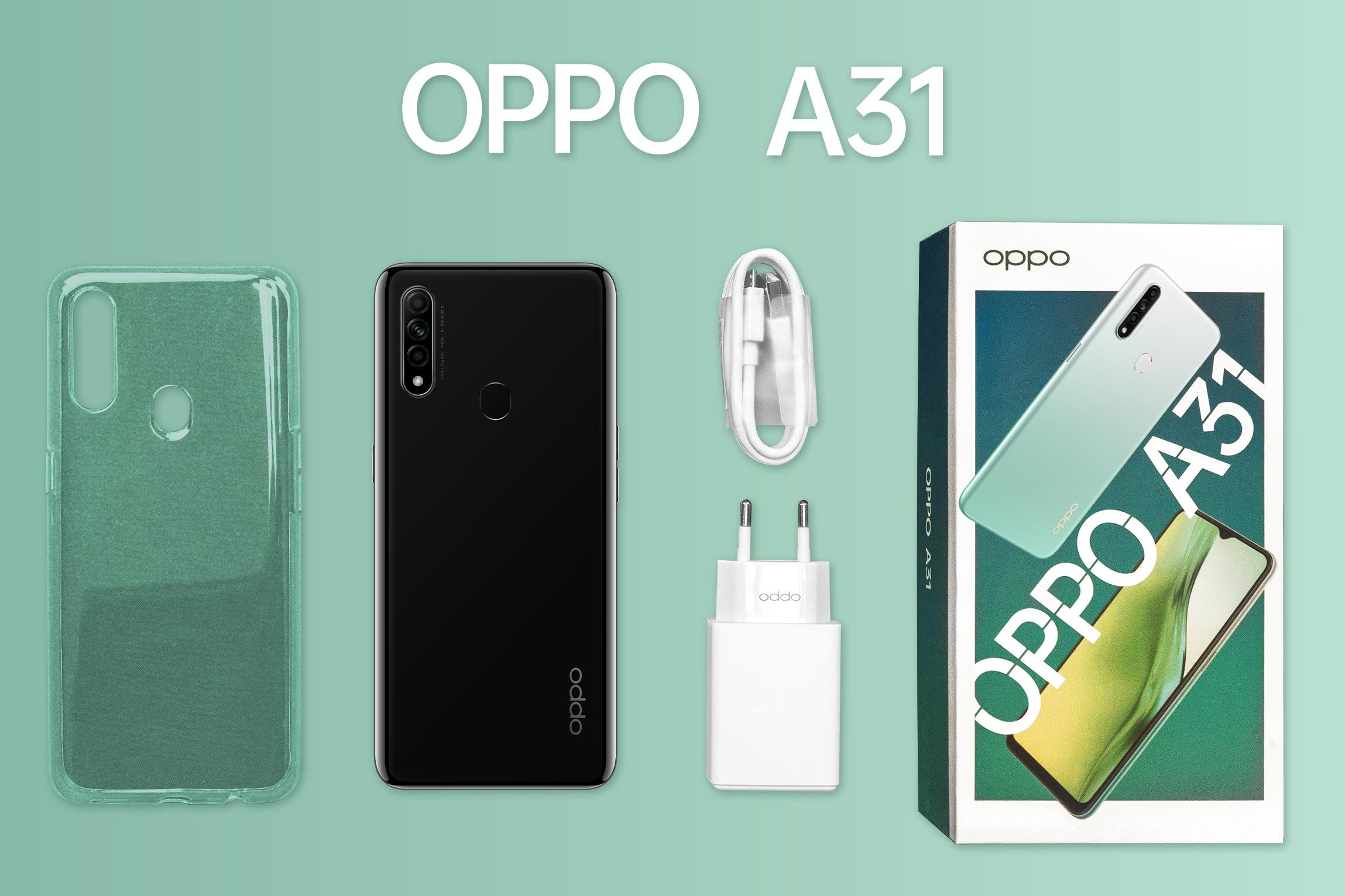 ᐉ Смартфон OPPO A31 4/64GB Mystery Black ➠ купить в Украине: Киев, Харьков,  Днепр, Одесса | цена в ELDORADO