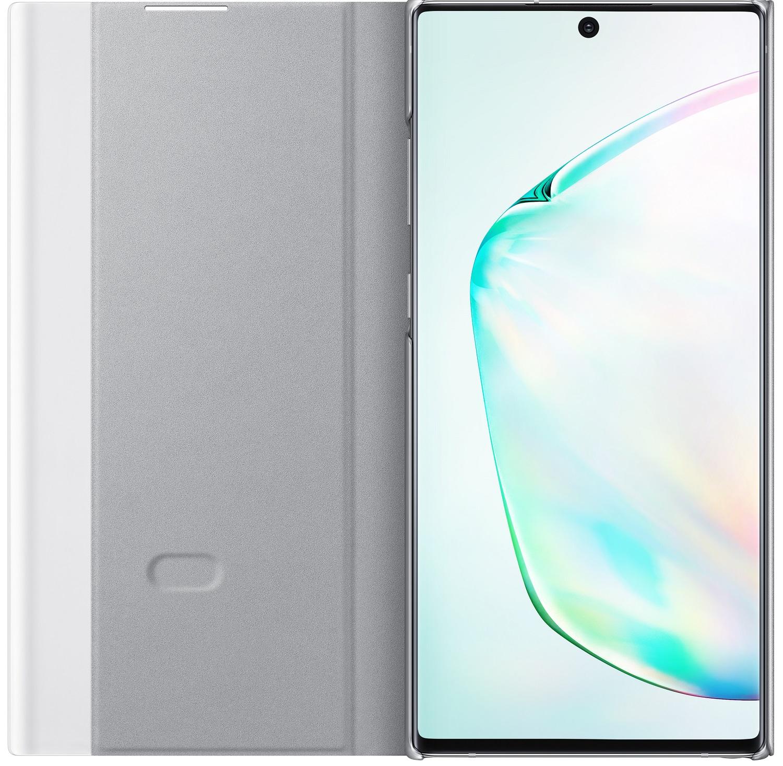 Чехол Samsung Galaxy Note 10 Plus Clear View Cover Silver (EF-ZN975CSEGRU)