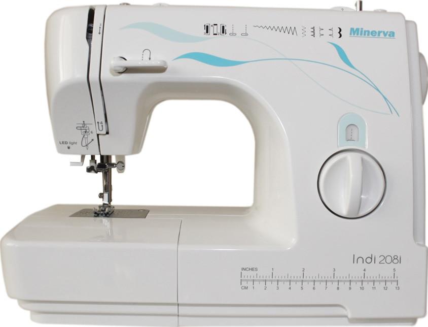 Швейные машины, Швейная машина MINERVA INDI 208I  - купить со скидкой