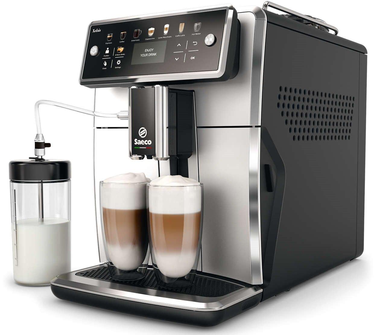 Бодрое утро каждый день с умной автоматической кофемашиной