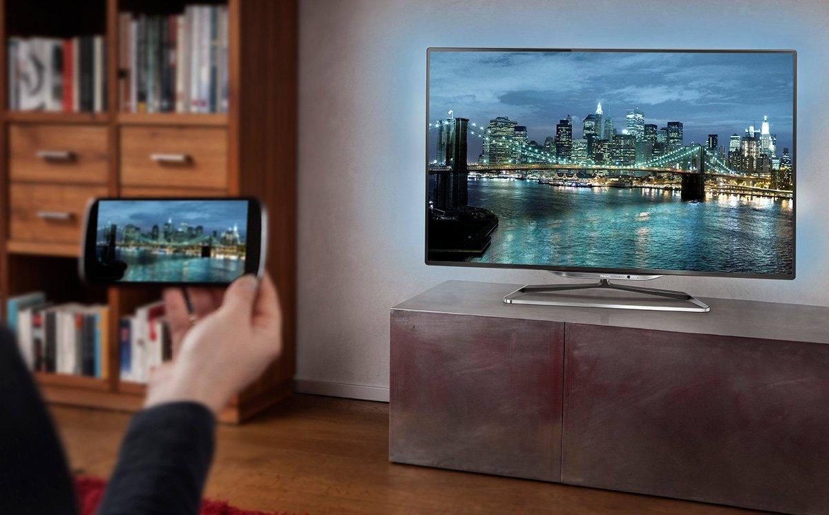 передача изображения со смартфона на телевизор